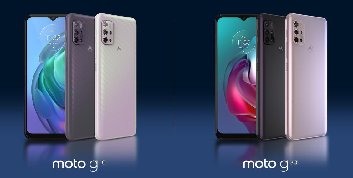 Motorola выпустила смартфоны среднего класса Moto G30 и Moto G10