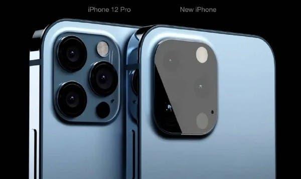 Камеры iPhone 13 могут выглядеть так