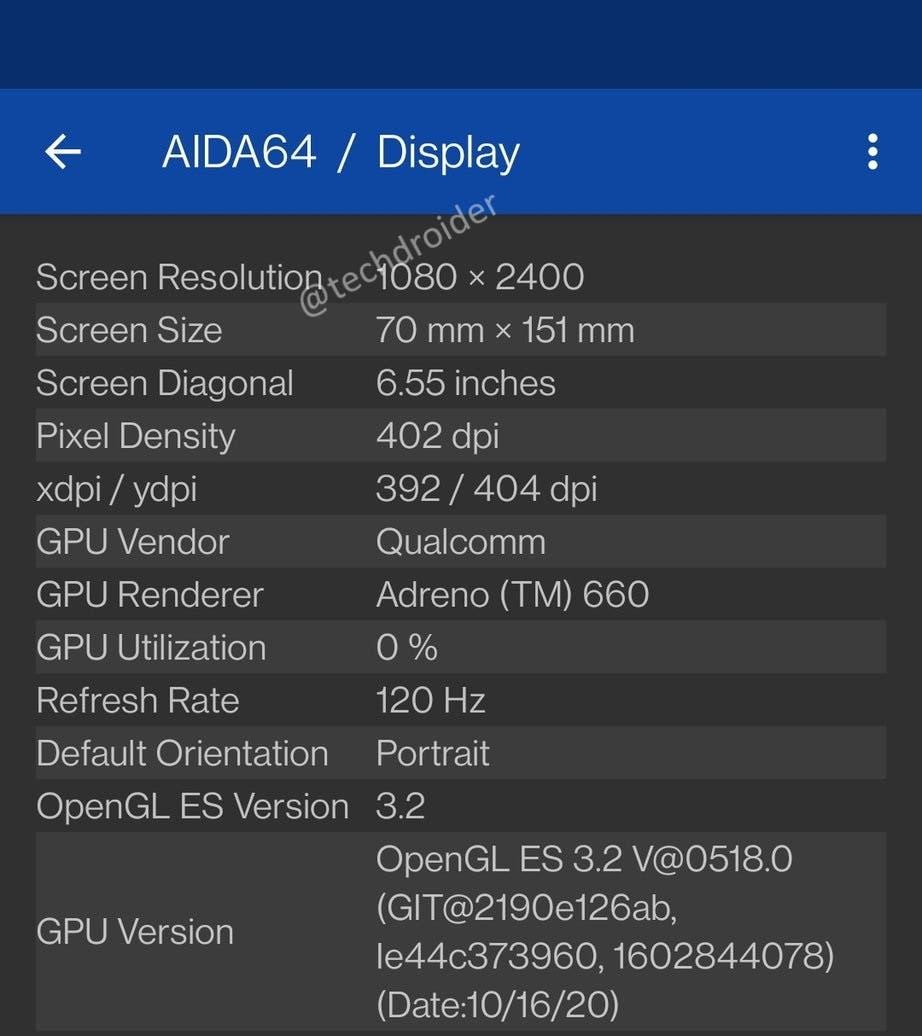 Характеристики грядущего флагмана OnePlus 9 подтверждены