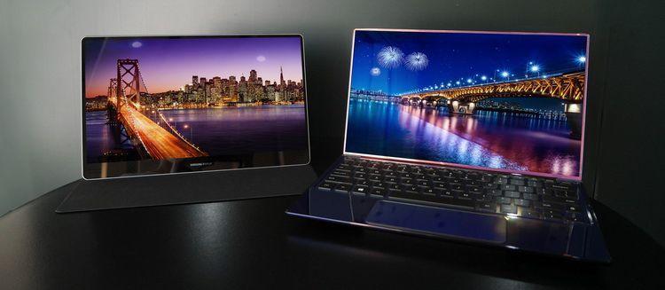 Samsung готовиться выпустить два ноутбука с OLED-панелями