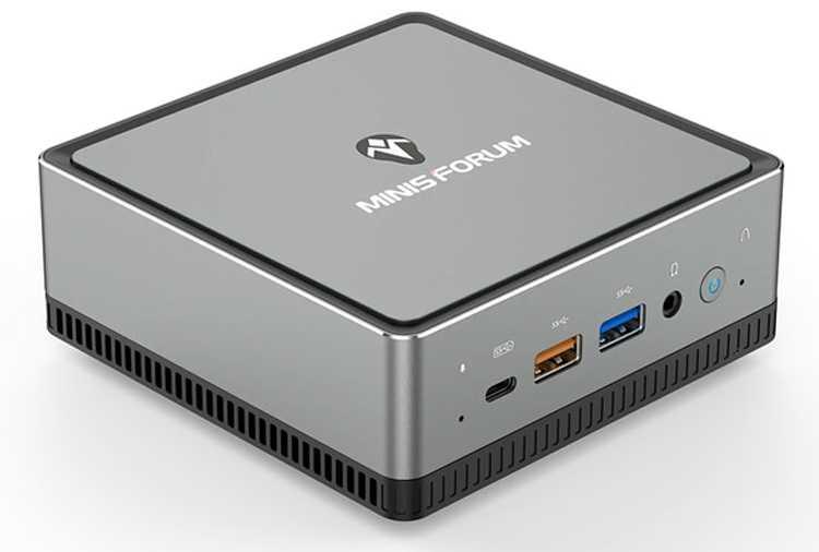 Мини-компьютер MINISFORUM DeskMini UM340 на чипе AMD Ryzen 5 за $539