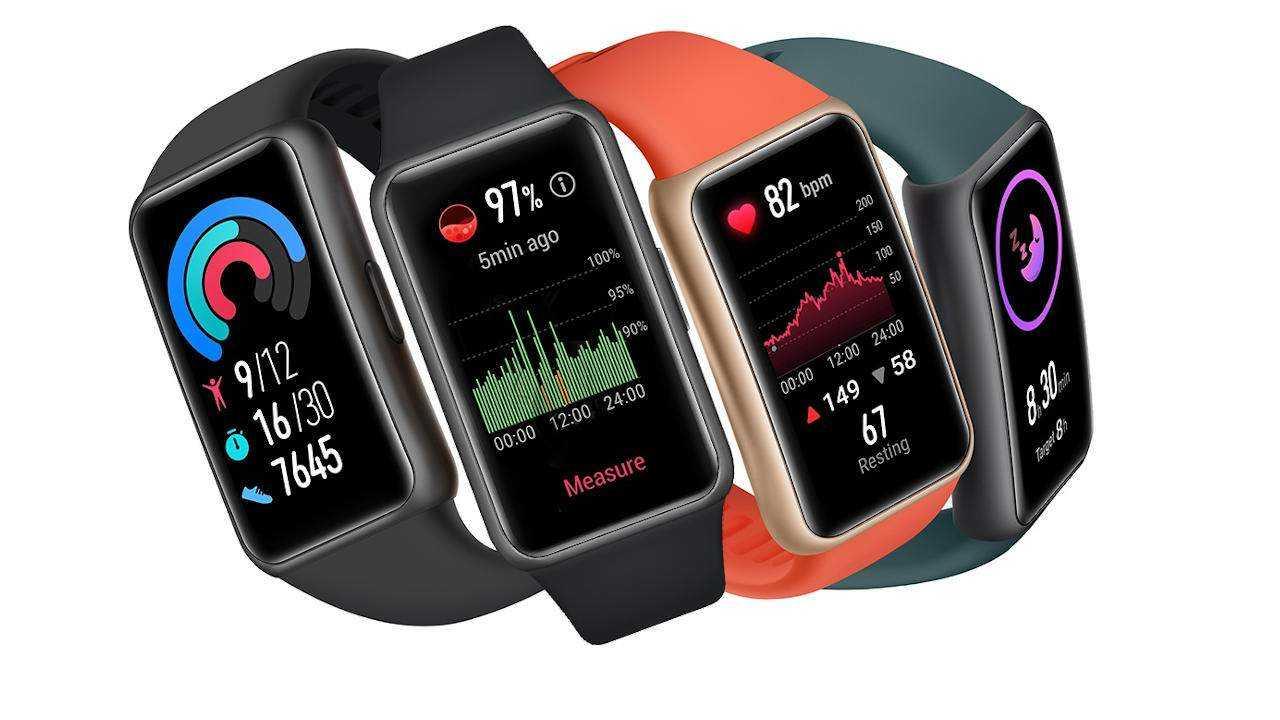 Фитнес-браслет Huawei Band 6 похож на умные часы