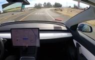 Водитель испытал автопилот Tesla, проехав 1200 км