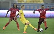 Украина обжаловала техническое поражение в матче против Швейцарии