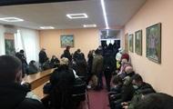 Под Киевом инвесторы жилого комплекса штурмовали приемную мэра