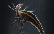 Найден новый вид динозавров с меховой гривой