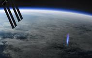 На МКС сняли редкое природное явление