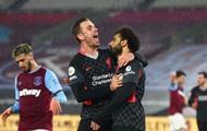 Ливерпуль в гостях обыграл Вест Хэм, Ярмоленко вышел на замену