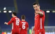 Бавария разбила Лацио в первом матче 1/8 финала Лиги чемпионов