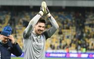 Бойко провел 40-й 'сухой' матч за Динамо