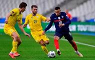 Франция - Украина 1:1. Видео голов и обзор матча квалификации ЧМ-2022