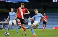 Зинченко помог Манчестер Сити разгромить Саутгемптон