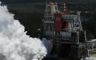 NASA испытало двигатели ракеты для полета на Луну