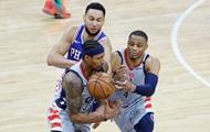 НБА: Вашингтон Леня проиграл Филадельфии и вылетел с плей-офф, Юта выбила Мемфис