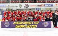 Донбасс-1 - победитель Junior Hockey Cup