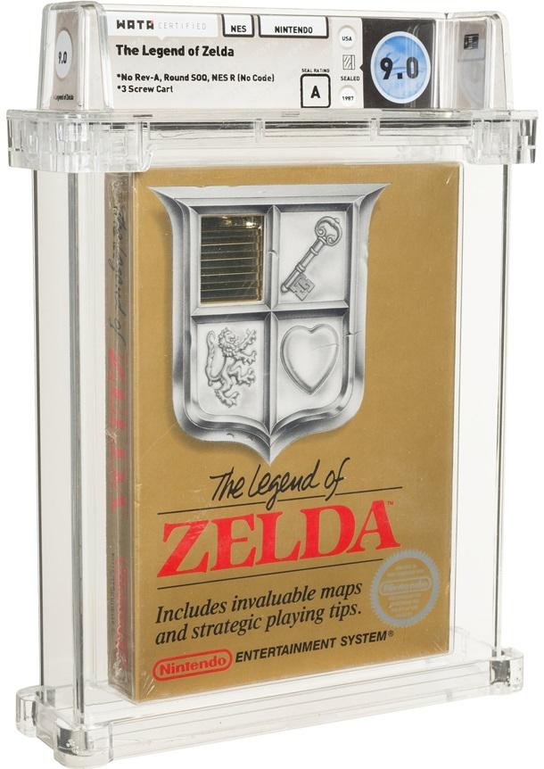 Редкая копия игры Legend of Zelda установила рекорд на аукционе