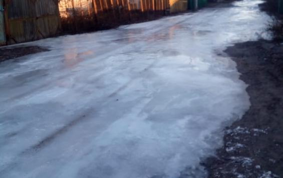Бюджетный каток в Большесолдатском районе «прикрыли» по требованию прокуратуры