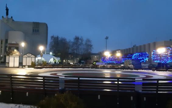 В Курске появится световая консоль «Театральная площадь»