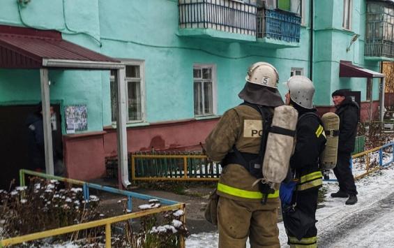 В Курске из-за петарды вызвали МЧС