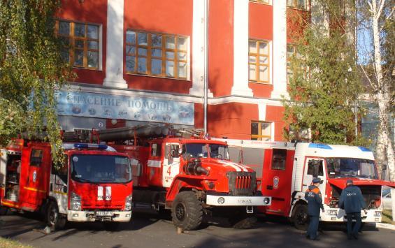 Курские пожарные получат новую технику