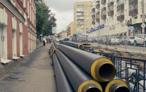 Курская область планирует увеличить затраты на ремонт теплосетей