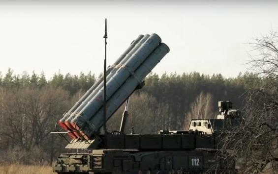 В Курской области состоялся запуск ракетных комплексов «Бук-М3»