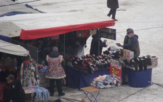 В Курске пресекли несанкционированную торговлю