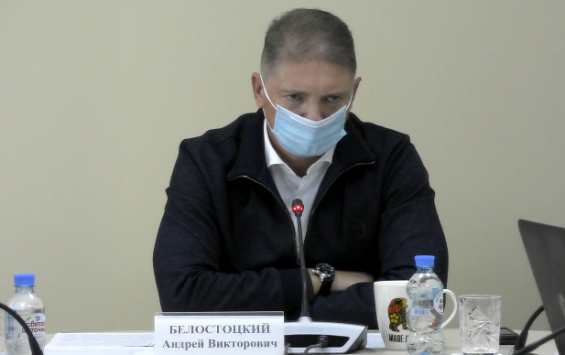 Андрей Белостоцкий рассказал о ситуации с COVID-19 в регионе