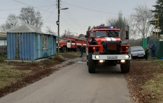 За сутки в Курской области потушили пять пожаров
