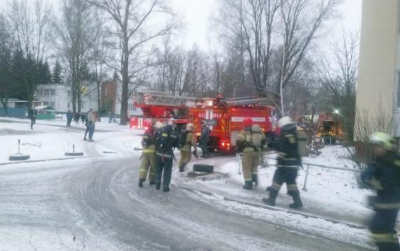 В Курске на Орловской дважды тушили многоэтажки