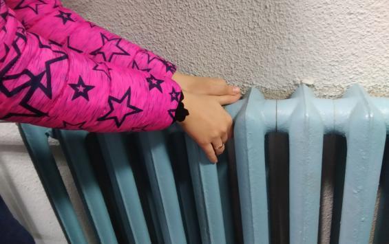 В Курске четыре дома остались без отопления из-за аварии