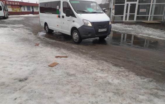 Проблема с маршрутками в Курчатове остается острой