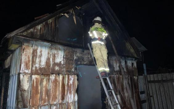 Житель Советского района спас односельчанина на пожаре