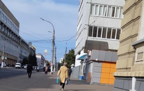 С главных улиц Курска исчезнут киоски и павильоны