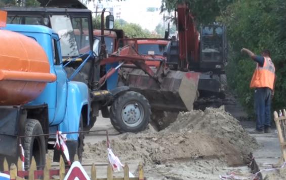 Решением суда в Курске отремонтируют дорогу