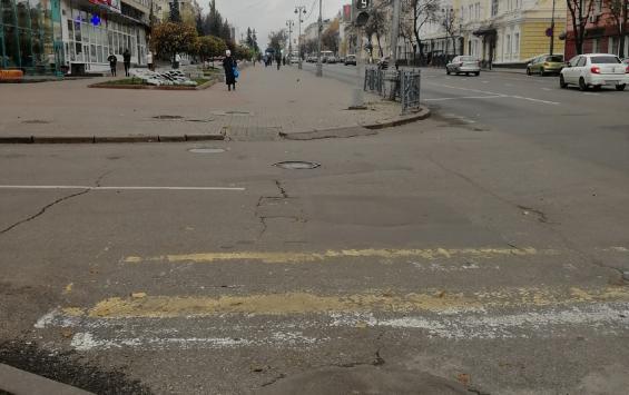 Дорогу на ул. Ленина ждет косметический ремонт