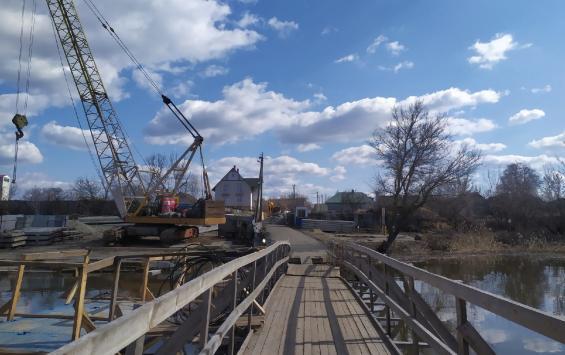 Открытие дороги с Пенским мостом ожидается в августе