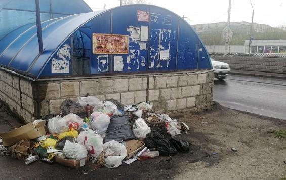 После субботников в Курске убрали не весь мусор