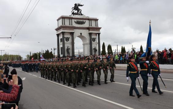 В Курске состоялся Парад Победы
