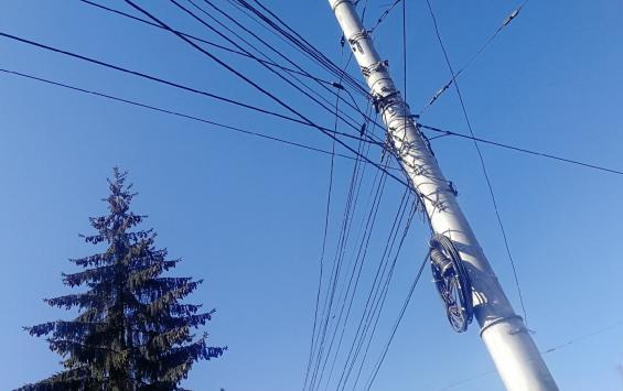 В Курске с 24 по 28 мая отключат электричество