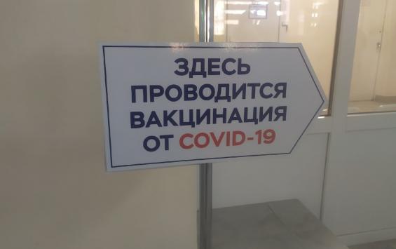 В регионе почти 500 человек заболели COVID-19 после вакцинации