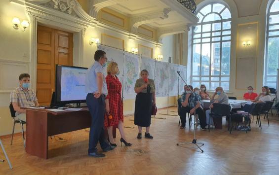 В Курске с жителями Центрального округа обсудили генплан