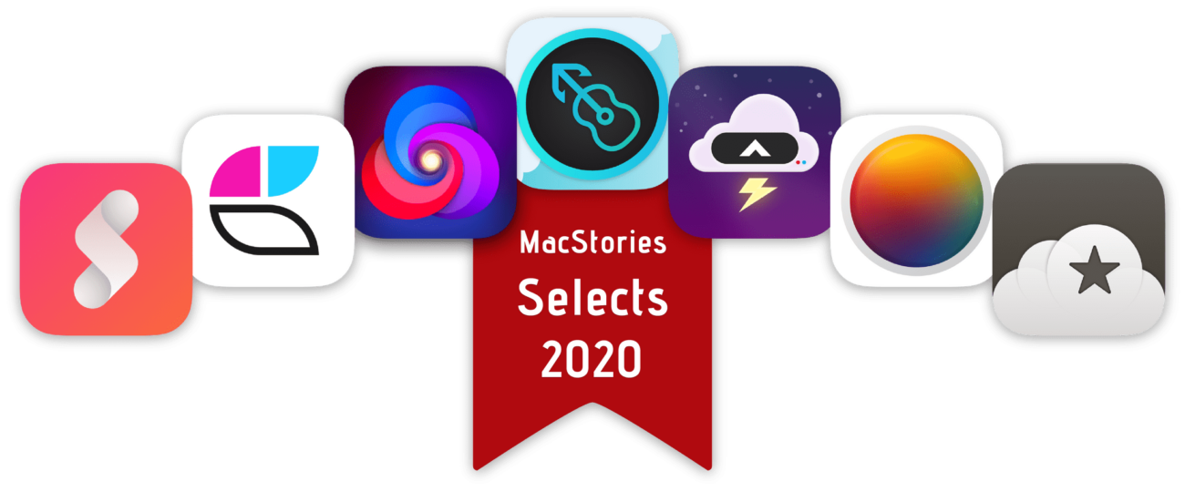 Лучшие приложения 2020 года в App Store, получившие премию MacStories Select
