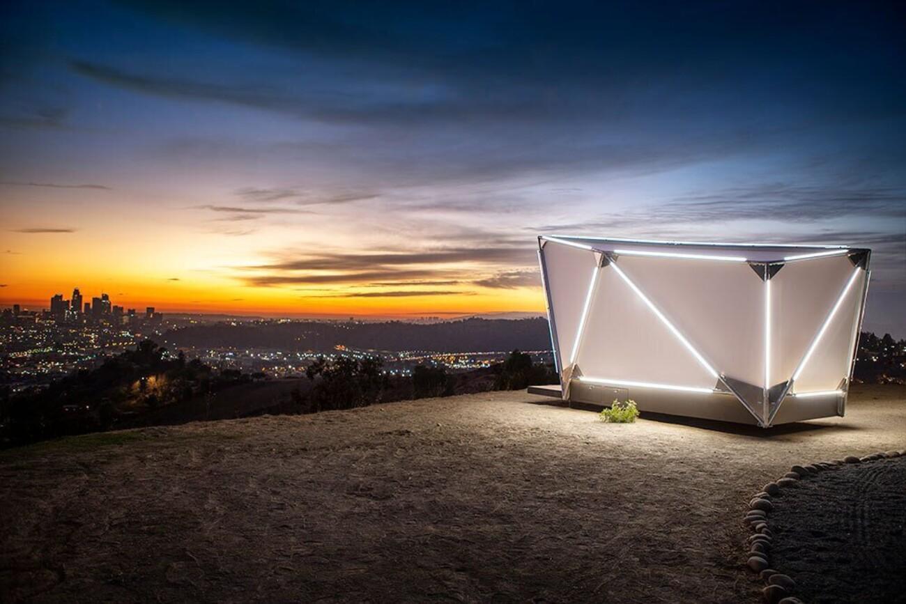 Фото: палатка за $17 500 от американского стартапа Jupe