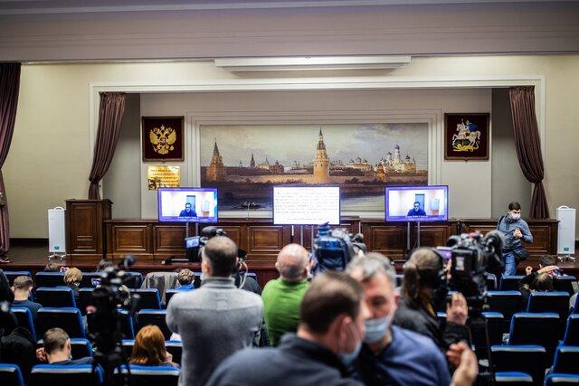 Спасибо за скорое правосудие. Мособлсуд посчитал законным задержание Алексея Навального до 15 февраля. Репортаж Кристины Сафоновой