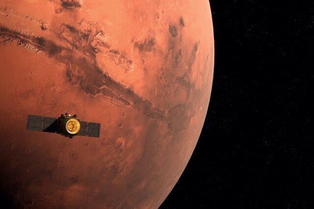 ОАЭ вывели космический аппарат на орбиту Марса. Его создала арабская команда ученых, на 80% состоящая из женщин