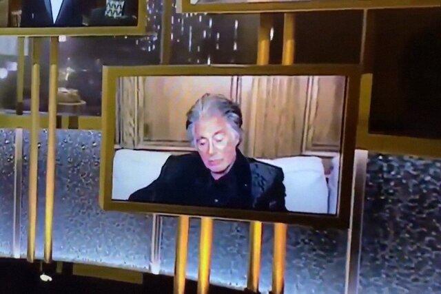 Аль Пачино вздремнул во время созвона по зуму. Этим созвоном была церемония «Золотой глобус»