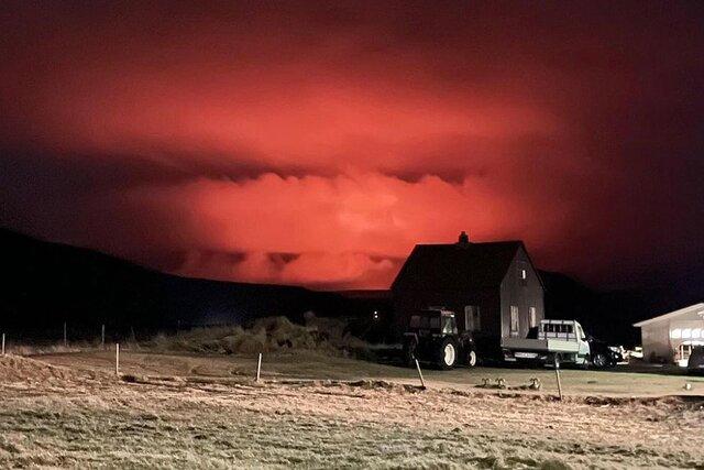 В Исландии проснулся вулкан Фаградальсфьядль. Посмотрите на его извержение