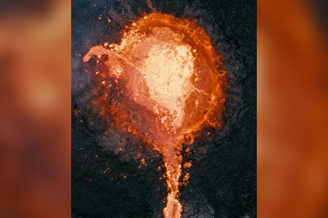 Фотограф из Исландии сжег свой дрон в жерле извергающегося вулкана Фаградальсфьядль. Беспилотник, конечно, жаль, но зато посмотрите, какие кадры!