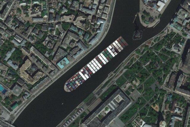 Контейнеровоз скоро разблокирует Суэцкий канал. Но где он застрянет в следующий раз? Решать — вам